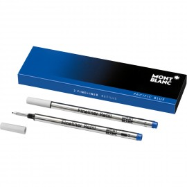 Montblanc 2 Refill per Fineliner B Pacific blue - blu 105171