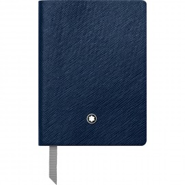 Montblanc Blocco note 145 indaco, a righe 113598
