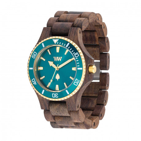 WeWood Date MB Choco Rough Emerald 70362518000