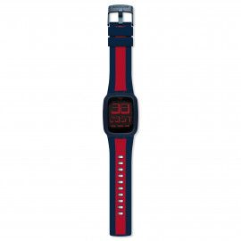 Swatch Touch Dark Blue & Red SURN101D