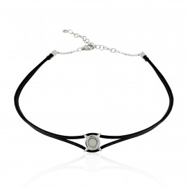 Breil Stones Chocker in pelle TJ2331