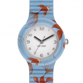 Hip Hop Orologio Red Fishes HWU0790