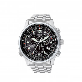 Citizen Crono Pilot Radiocontrollato Acciaio AS4020-52E