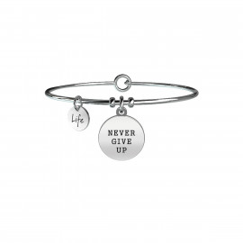 Kidult Braccialetto NEVER GIVE UP | TENACIA 731156