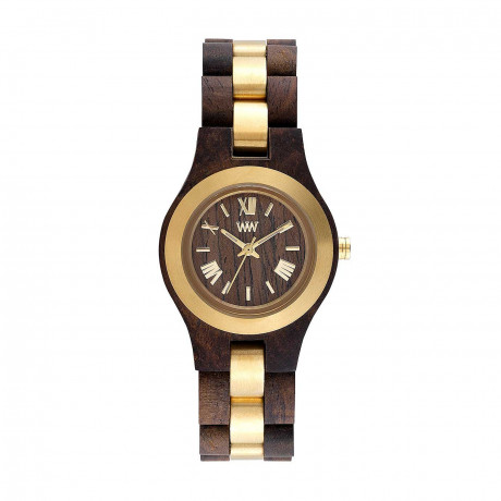WeWood Criss Me Choco Rough Gold 70233520000