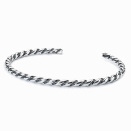 TROLLBEADS Bangle a Spirale in Argento M TAGBA-00009