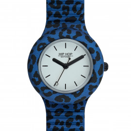 Hip Hop Pop Jungle Blue Leopard HWU0934