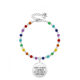 Kidult Bracciale THERE'S ALWAYS A RAINBOW AT THE END OF EVERY RAIN 731829