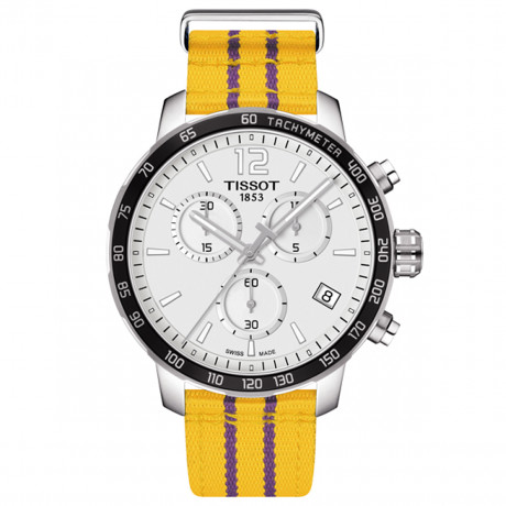 Tissot Orologio Uomo Quickster Chronograph NBA Los Angeles Lakers T095.417.17.037.05
