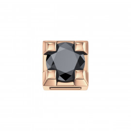 Elements Griffe Oro rosa con Diamante nero DCHF3305.002