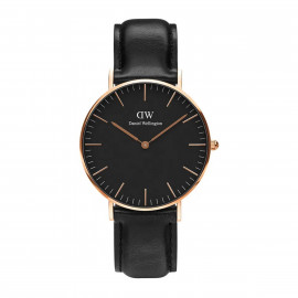 Daniel Wellington Classic Black Sheffield 36 Rose Gold DW00100139