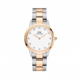 Daniel Wellington Iconic Link Lumine 32 Rose Gold Silver White DW00100358