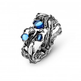 Giovanni Raspini Bangle Orchidea Blu 9275