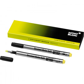 Montblanc 2 Refill per Evidenziatore Luminous Yellow - giallo luminoso 105168
