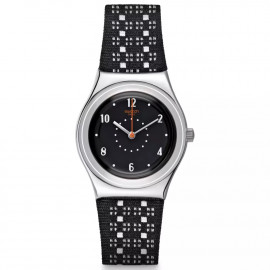 Swatch Black Puncher YLS184